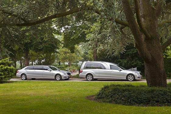 Staatsie Mercedes grijs